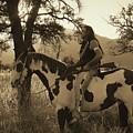 Rides His Horse 3 by Samantha Burrow