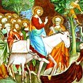 Rides Into Jerusalem by Munir Alawi