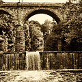 Ridge Avenue Falls Along The Wissahickon Creek by Bill Cannon
