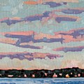 Ridge Stratocumulus by Phil Chadwick