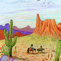 Ridin' The Range by Marilyn Smith