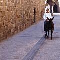 Riding A Donkey by Thomas R Fletcher