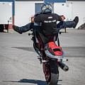 Riding A Wheelie by Tony Fruciano
