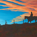 Riding Fence by Jerry McElroy