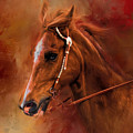 Riding The Autumn Breeze Horse Art by Jai Johnson