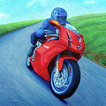 Riding The Highlands - Ducati 999 by Brian  Commerford
