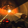 Riding Through One Of The Many Tunnels In The Italian Alps by Ron Brown Photography