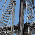 Rigging Aboard The Galeon by Dale Kincaid