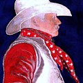 Right Facing Cowboy by Herb Russel