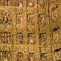 Right Half - The Golden Retablo Mayor - Cathedral Of Seville - Seville Spain by Jon Berghoff