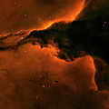 Right - Triptych - Stellar Spire In The Eagle Nebula by Paul W Faust - Impressions of Light