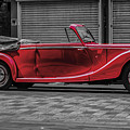 Riley Rmd 1950 Drophead Coupe by Claire  Doherty