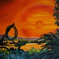 Rim Of Fire     72 by Cheryl Nancy Ann Gordon