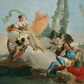 Rinaldo Enchanted By Armida by Giovanni Battista Tiepolo