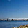 Ringling Bridge, Sarasota, Fl by Michael Tesar