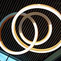 Rings Abstract by Kristin Elmquist