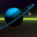 Rings Of Saturn by Sandra Bauser Digital Art