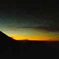 Rinjani Sunset by Jamie Johnson