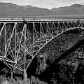 Rio Grande Bridge In New Mexico by Spirit Vision Photography