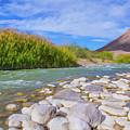 Rio Grande Hoodoos Trail Head by SR Green