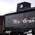 Rio Grande Rail Cars by Peter  McIntosh