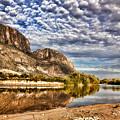 Rio Grande River 1 by Judy Vincent