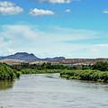 Rio Grande Runs Full by Allen Sheffield