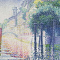 Rio San Trovaso, Venice by Henri Edmond Cross