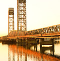 Rio Vista Bridge Sunrise by Troy Montemayor