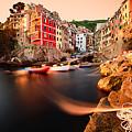 Riomaggiore Cinque Terre by Andre Distel