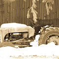 Rip Old Oliver Tractor by John Harmon