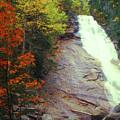 Ripley Falls Autumn by John Burk