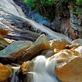 Ripley Falls Cascading Light by Shell Ette