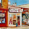 Ripples Icecream  by Carole Spandau
