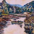 Ripples On The Little River by Kendall Kessler