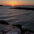 Rising Sun, Anna Maria City Pier, Ami Florida #30097-98 by John Bald