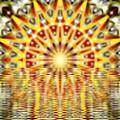 Rising Sun Mandala by Michael African Visions