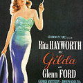 Rita Hayworth As Gilda by Georgia Fowler