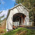 Ritner Creek Covered Bridge 0739 by Kristina Rinell