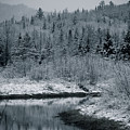 River Bend Winter by Todd Bissonette