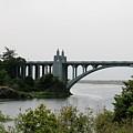 River Bridge  by Christy Pooschke