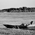 River Canoe by Elizabeth Donald