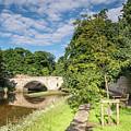 River Coquet Flows Under Warkworth Bridge by David Head