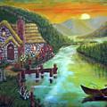 River Cottage by Arno Clabaugh