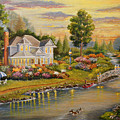 River Home by Lucille  Owen-Huston