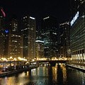 River In Chicago by Sandy Bloom