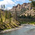River In Shoshone by Jennifer White