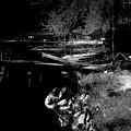 River In The Night... by Aleksandrs Drozdovs