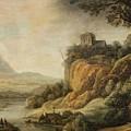 River Landscape by Celestial Images
