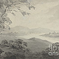 River Landscape With Ruins by William Gilpin